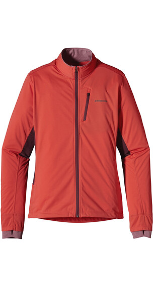 Patagonia W's Wind Shield Hybrid Jacket Sumac Red
